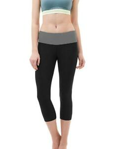 Yoga Pants for Women, Active Capri Workout Leggings for Gym, Exercise or Running