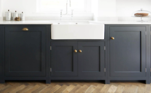 Windsor Shaker In Frame Belfast Sink Kitchen Unit 800mm 2 Door Cabinet Ebay