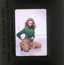 263W PRISCILLA BARNES 1980 Harry Langdon 35mm Transparency w/rights