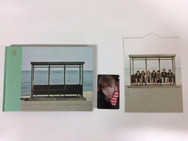 BTS - YOU NEVER WALK ALONE OPEN CASE PHOTO CARD(V) LEFT VERSION+folded poster