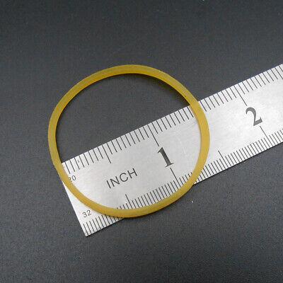 "2 X Hobby Motor Drive Rubber Belts - 5//32/"" Wide 2/"" Dia - 13 Teeth // in"