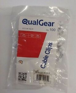 QualGear eHotCafe CC1-W-100-P Cable Clips