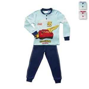 Super carino 3f38e b4900 Dettagli su Pigiama bambino Cars Pixar Disney in Caldo cotone WD16499 T248