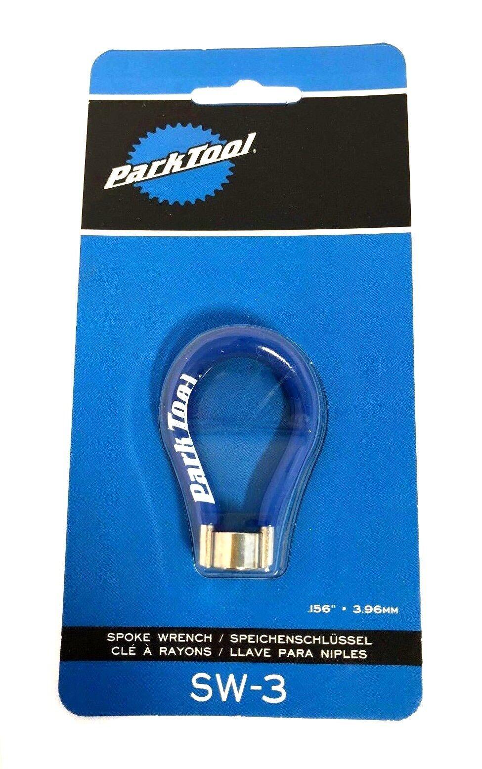 Park Tool SW-3 Spoke Wrench Wheel 3.96mm bluee Bike Repair Tool SW-3C NEW