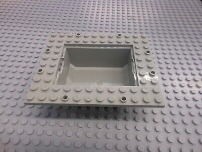 Lego Container Boat Cargo Loading Plate 10x12 with 6x8 Tub 4030 4020 4021 ship