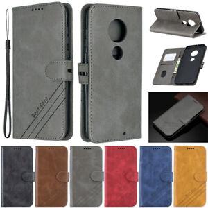 Luxury Wallet Leather Flip Case Cover For Motorola Moto E 2020 G8 Power G Power