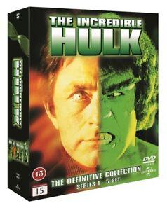 The-Incredible-Hulk-Complete-Series-1-5-DVD-Box-Region-2-PAL