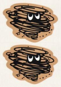 Mopar 1970, 1971 & 1972 Plymouth Duster Cloud Window Decal Set, 2 decals