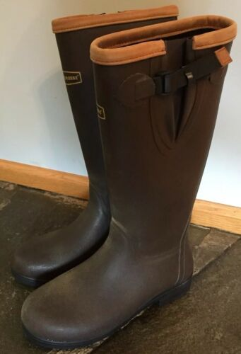 Lacrosse Alphafilly 150100 RUBBER Boots Brown EQUE