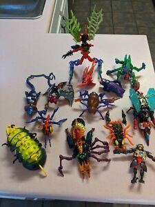 Transformers Beast Wars Lot Hasbro Takara Kenner Transmetals Tranatulus Estate