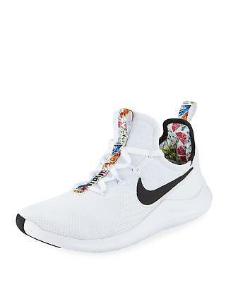 Nike Free TR 8 White/Black Floral Print