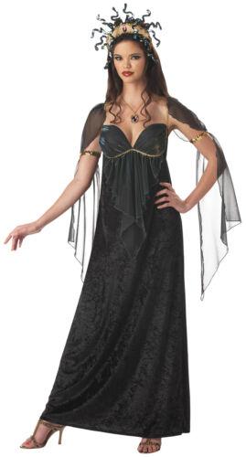 Mythical Medusa Adult Women/'s Costume Goddess Gown Grecian Incharacter Dress