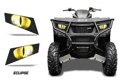 Headlight Eye Graphics Kit Decal Cover For Arctic Cat Alterra 400//450 ECLIPSE G