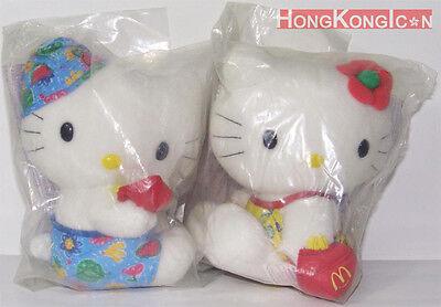 Hello Kitty Dear Daniel HK McDonald/'s Wisdom of Love Plush Doll Wedding Set of 2