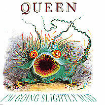 QUEEN - I'm Going Slightly Mad - 1991 UK/Dutch 3-track maxi CD - FREE UK P+P