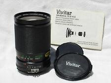 NIKON AI-S fit VIVITAR RL Edition 28-80mm F 3.5-4.5 lens. Macro focusing zoom MC