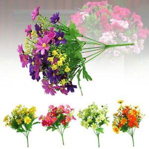 Haus Dekor Künstliche Blume Seidenblumen Kunstblume Blumenstrauß Gänseblümchen