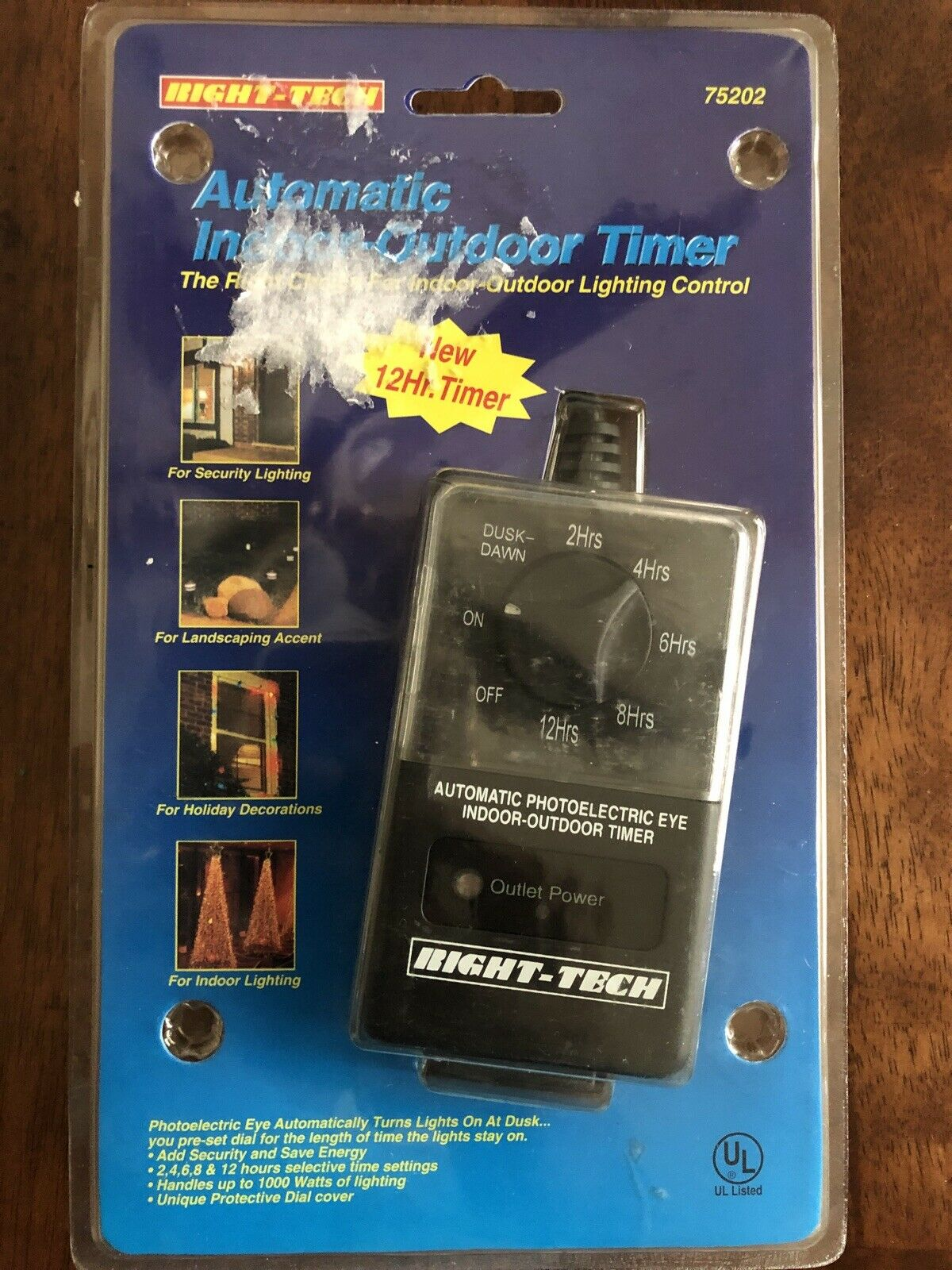 Right Tech Indoor/Outdoor Light Timer by Right Tech Lighting Control