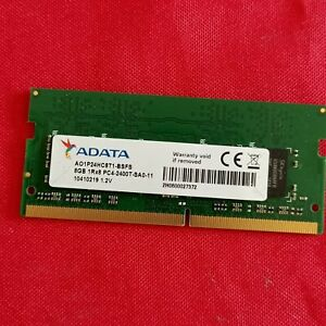 sodimm ADATA 8GB 1RX8 PC4-2400T-SA0-11 pour pc portable occasion