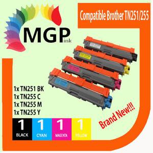 4x-Compatible-Toner-Cartridge-for-Brother-TN-251BK-TN-255C-TN-255Y-TN-255M