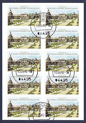 Analytisch Fb 19 Mit Nr Briefmarken 2915 In Einwandfreier Erhaltung Mit Tagesstempel !!!!⓱
