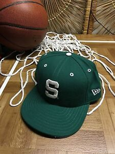 best website c4c49 15301 Image is loading MICHIGAN-STATE-SPARTANS-MSU-NEW-ERA-FITTED-HAT-