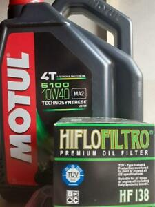 Motul-5100-10w-40-5ltr-amp-HF138-Oil-Filter