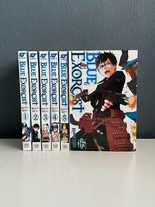 Blue-Exorcist-Manga-Series-1-5-15-ENGLISH-VIZ-SHONEN-Graphic-Novel-Lot-RARE-OOP