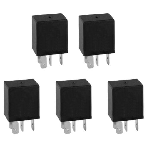 5 x 30A 5-Pin Cars Van Relay 12V Micro Automotive Changeover Relay Useful Tools