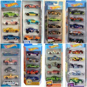 Hot-Wheels-5-Pack-conjuntos-coches-de-fundicion-F963-1-64-escala-12-Modelos-Surtido