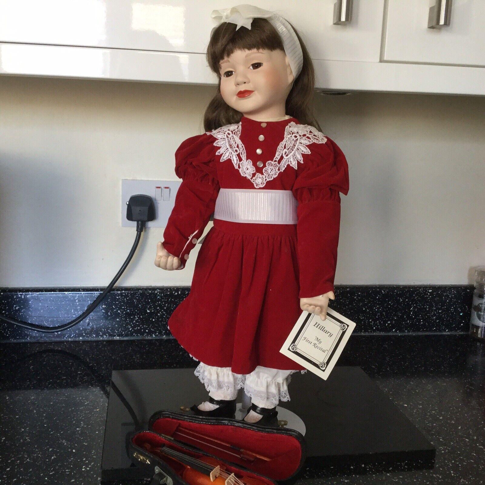 VINTAGE HAMILTON Heritage Collection  Bisque Bambola di PORCELLANA-Hillary 1st considereo  tutti i prodotti ottengono fino al 34% di sconto