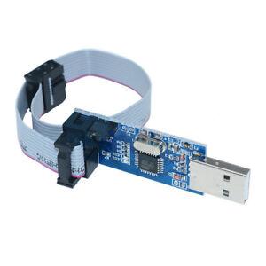 3-3V-5V-USBasp-USBISP-51-AVR-10-Pin-USB-Programmer-ATMEGA8-Cable-Adapter
