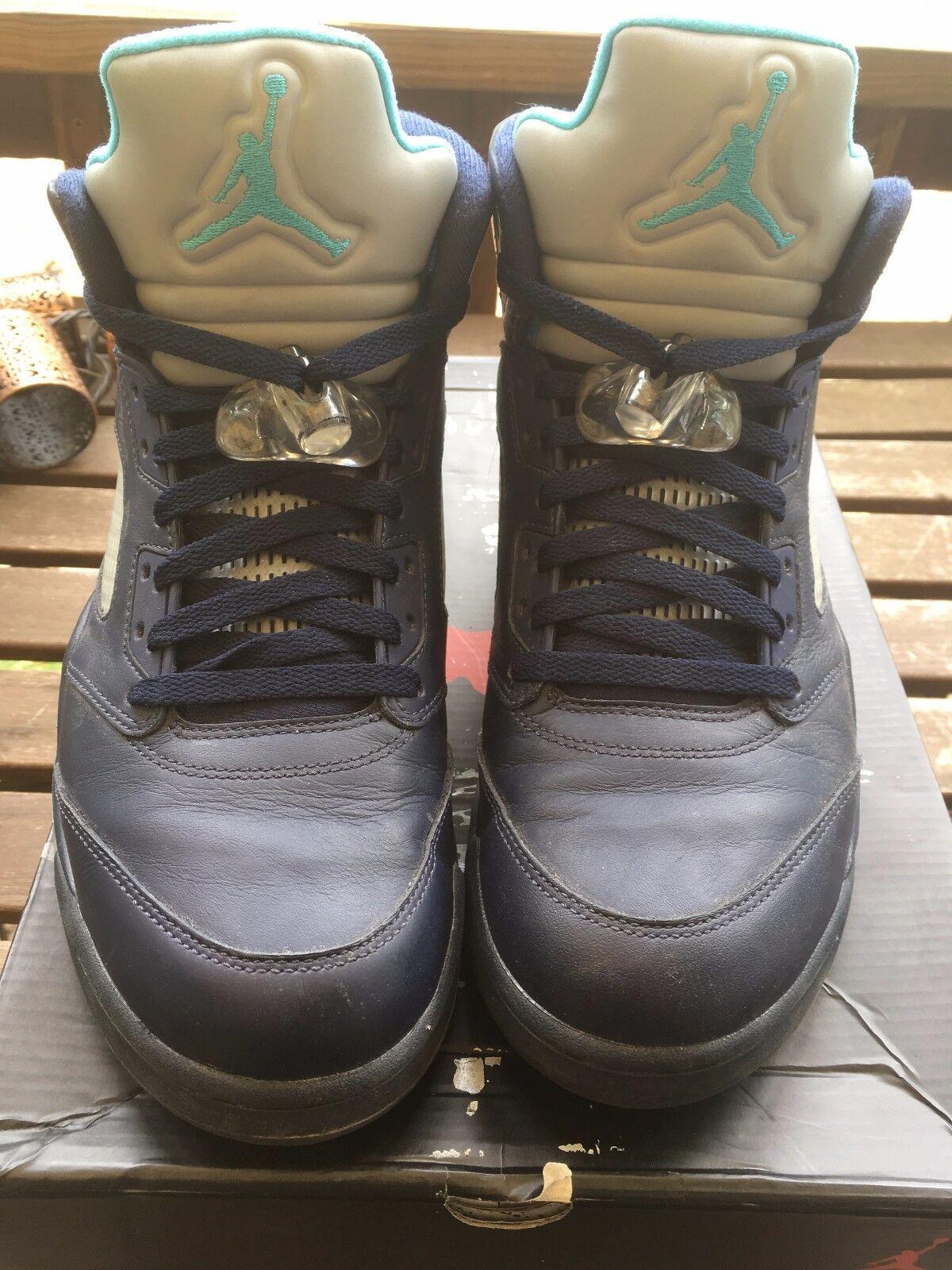 Nike air jordan v 44 5 retr marina hornet 44 v 21f5bb