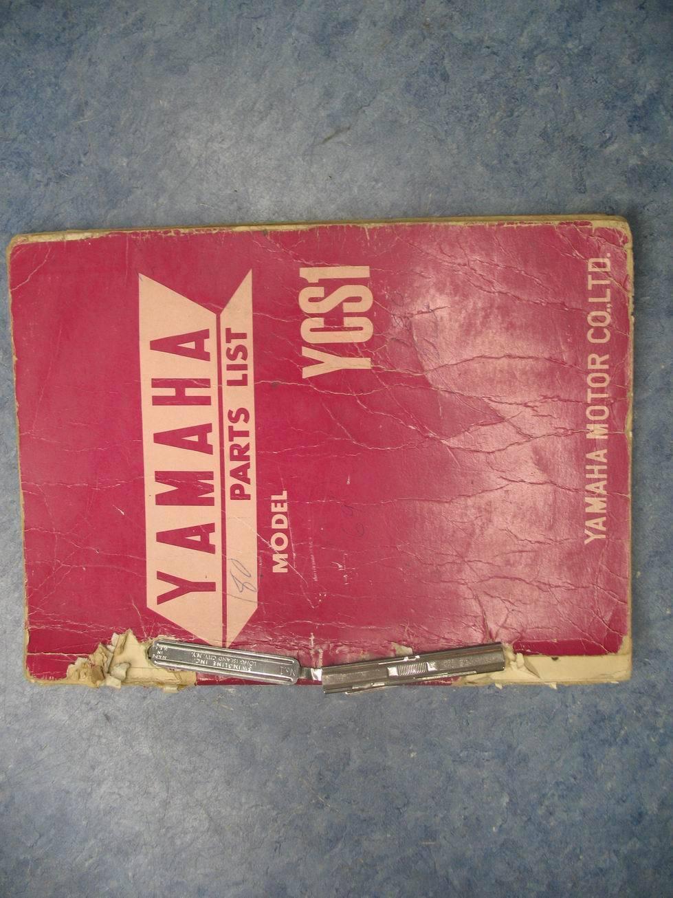 yamaha 180 twin ycs1 cs1 gasket engine set nos ebay rh ebay com
