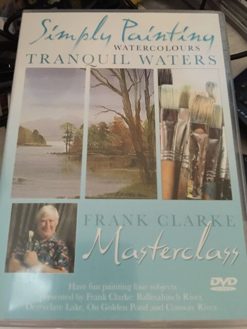 Simply Painting Watercolours - Tranquil Waters - Frank Clarke Masterclass DVD