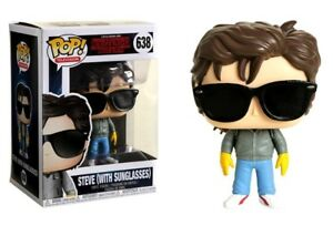 Details About Stranger Things Steve With Sunglasses Pop Funko Television Vinyl Figure N 638
