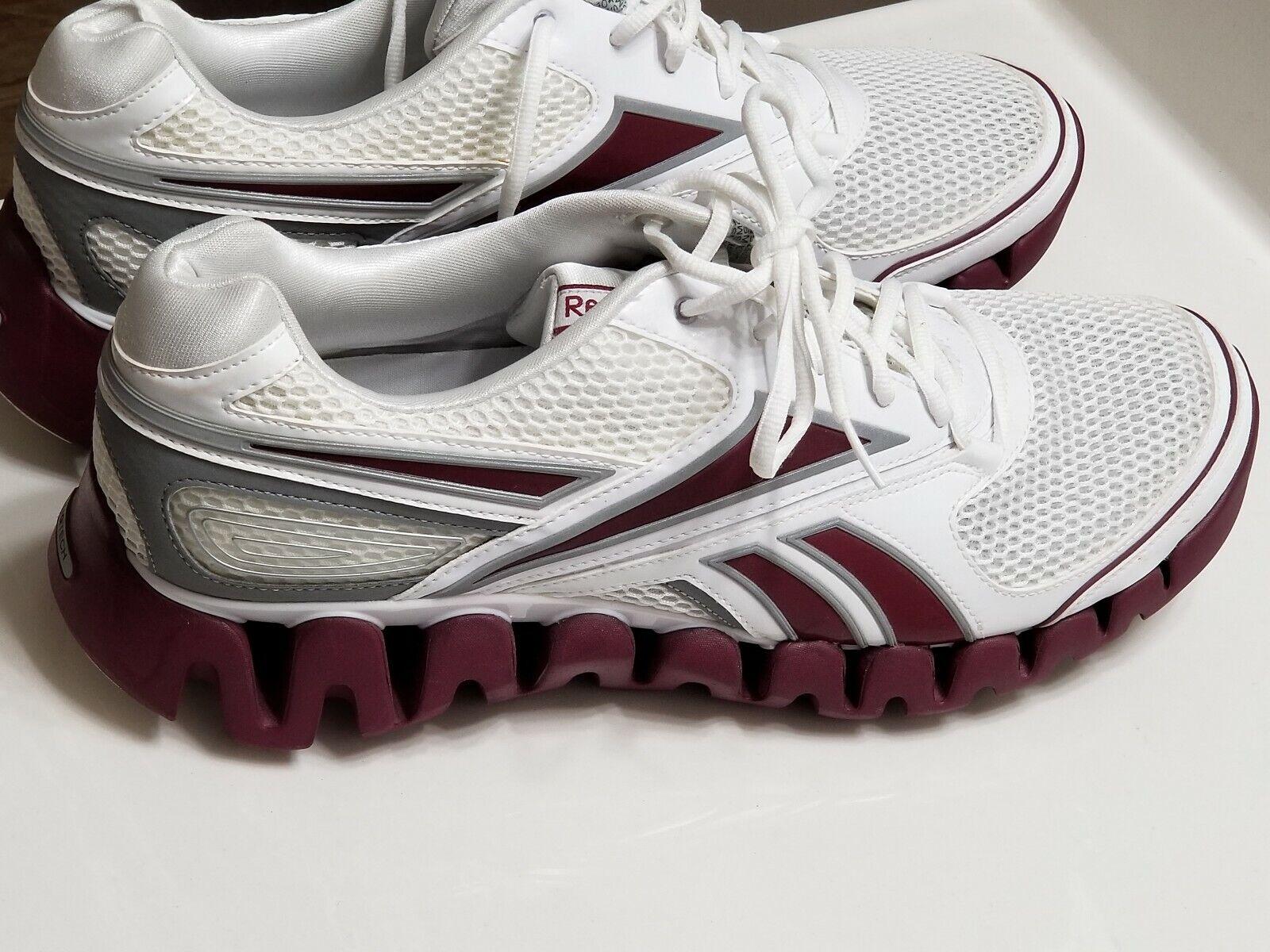 Reebok Zigtech Trainer Purple and White Mens Size 15 Medium New