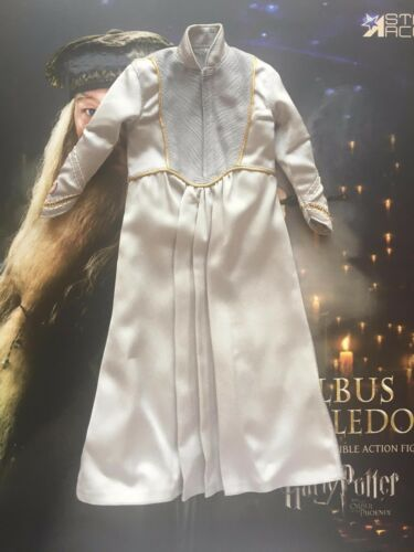 Star Ace Harry Potter Order of Phoenix Dumbledore Grey Robes loose 1//6th scale