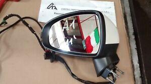 Specchietto anteriore sinistro elettrico originale Audi A1 2011 5 fili