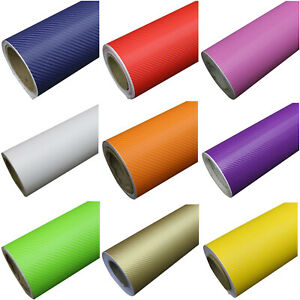 3D-Auto-Folie-Aufkleber-Aufkleber-Kohlenstoff-Folie-Vinyl-selbstklebendes-r-T8N2