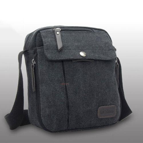 Messenger Bags School Shoulder Bag Men/'s Vintage Crossbody Satchel Canvas New
