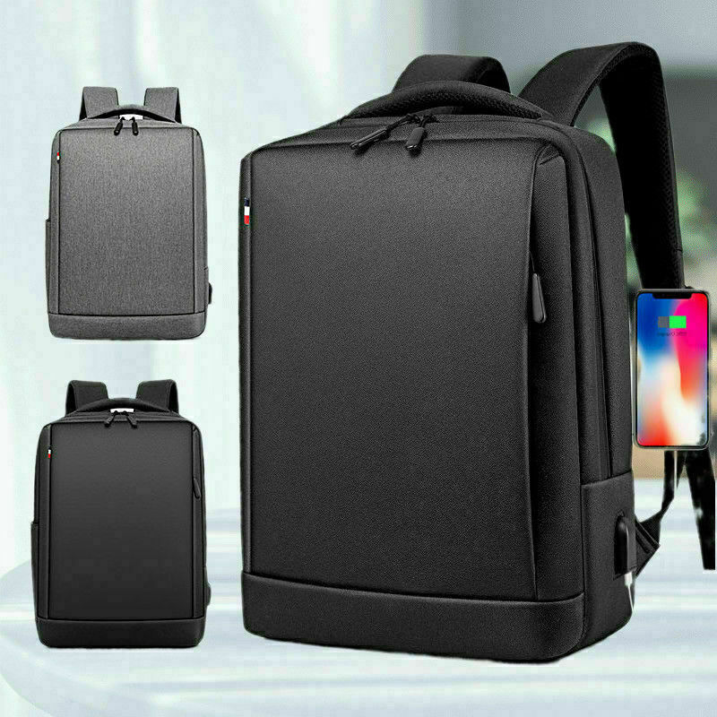 New Fashion Men Canvas School Backpack Casual Notebook Travel Laptop Bag Bags