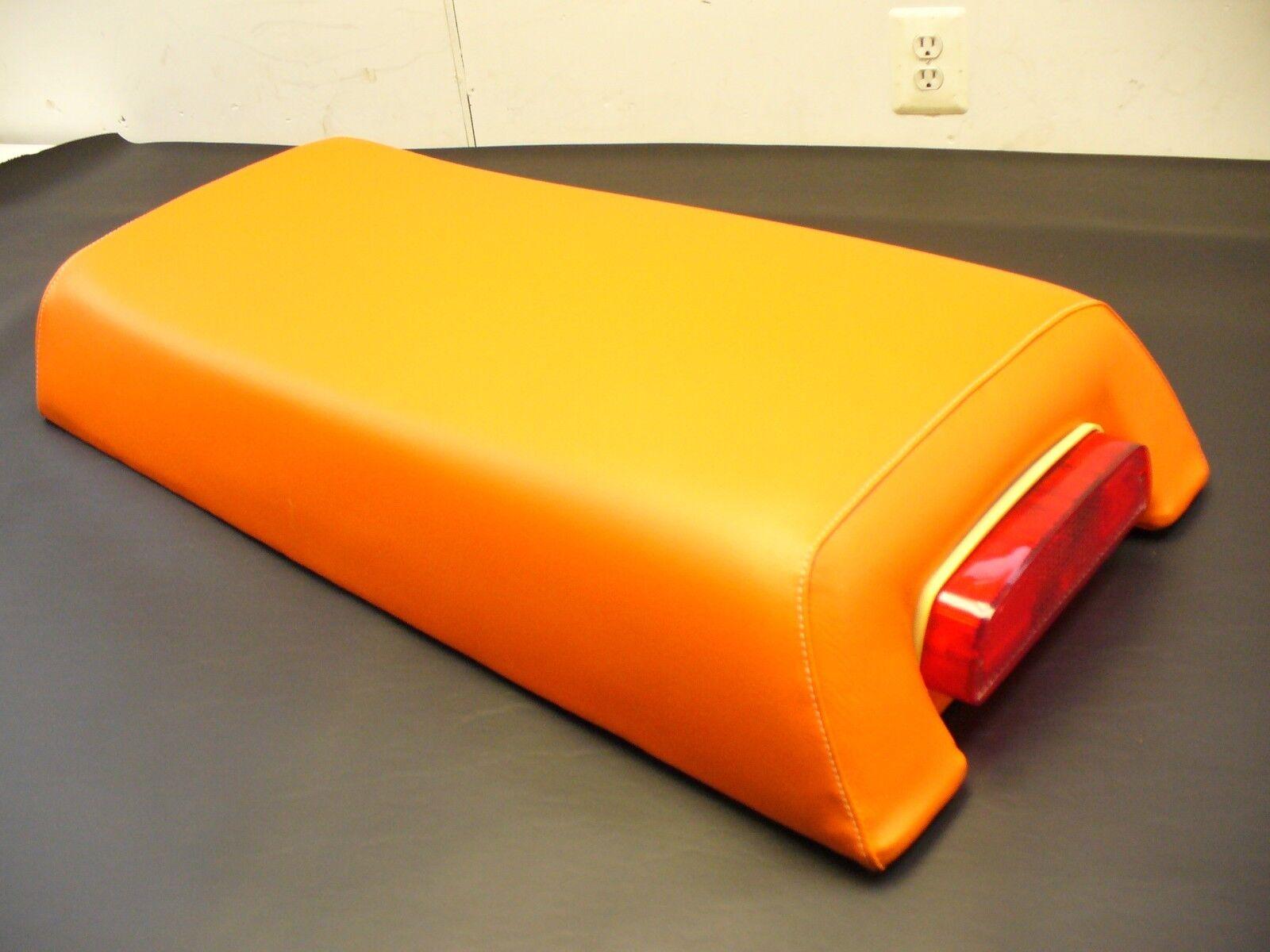 75 MOTOSKI SONIC TS Orange SNOWMOBILE SEAT COVER NEW