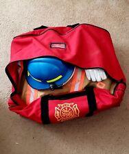 Tan Morning Pride Turnout Gear Helmet Gloves Flashlightand Janesville Pants