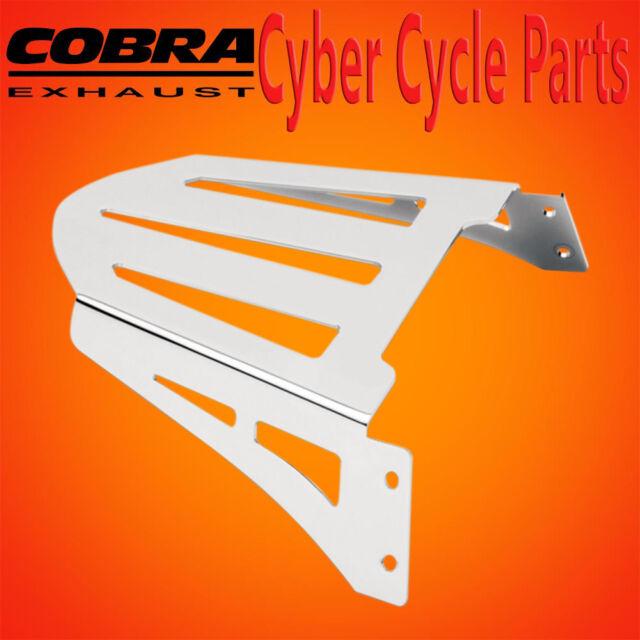 Cobra Sissy Bar Luggage Rack Formed Laser-Cut 02-3600 08-0963 1510-0063 Chrome