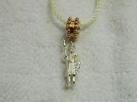 Clogau Silver & Welsh Gold Beefeater Bead Charm Rrp £119.00