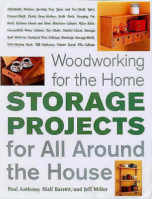 1 of 1 - Woodworking for the Home: Storage Projects: For All Around the House-ExLibrary