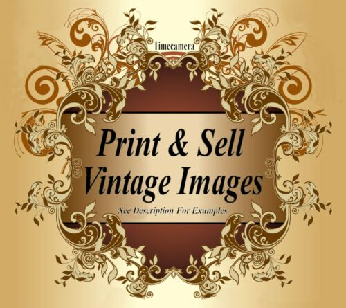 Restored Images VINTAGE USA STREET SCENES Print /& Sell by Timecamera