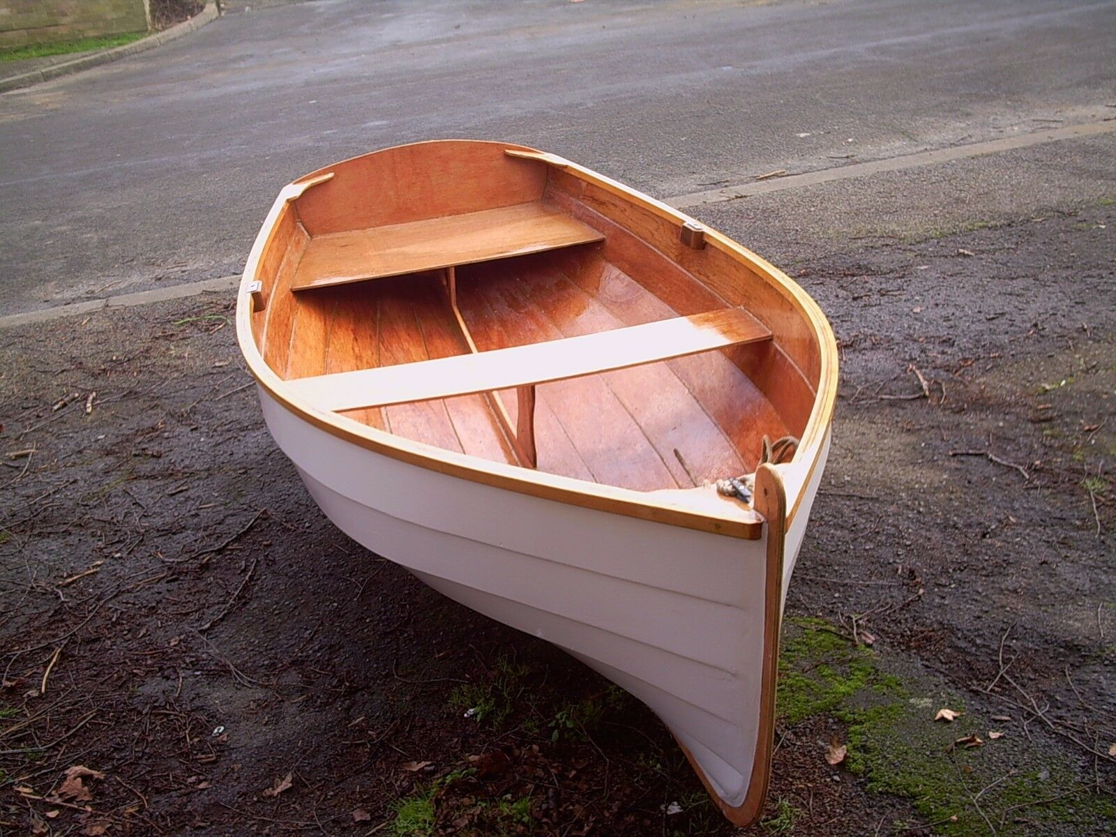 DIY Plans for WINCHELSEA 8 Row Motor Sail Dinghy - Full Size Patterns