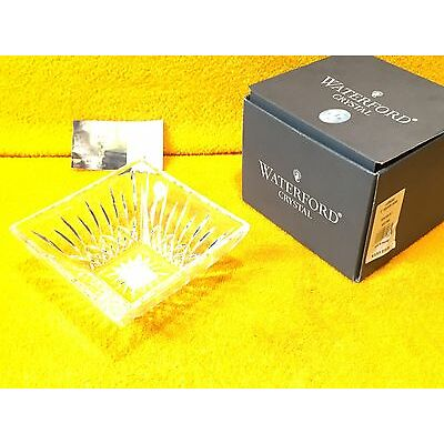 """***NEW*** EXQUISITE LISMORE 107759   6"""" SQ BOWL GENUINE WATERFORD CRYSTAL"""